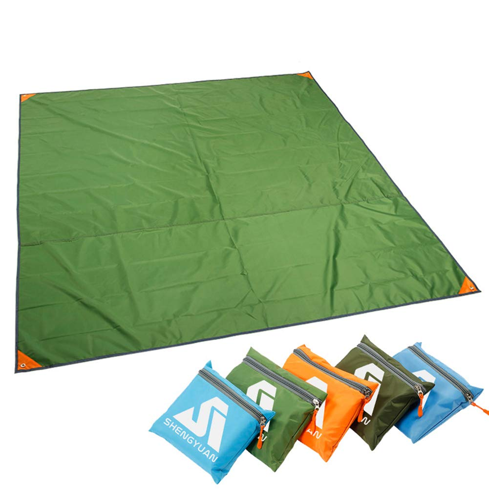 XuBa Oxford Fabric Outdoor Multipurpose Lightweight Waterproof Tent Camping Shelter Blanket Canopy Cover Mat