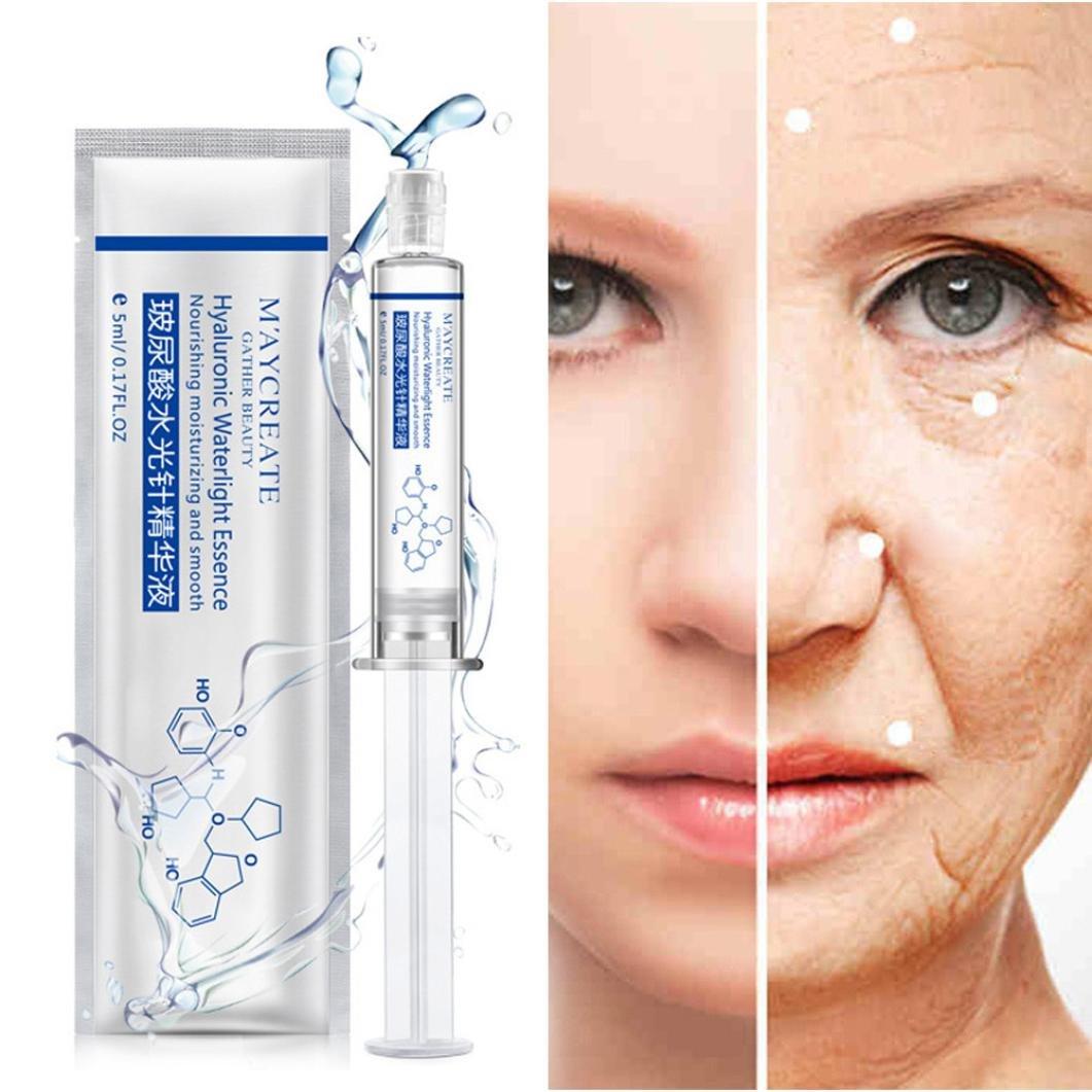 gaddrt Seidenprotein-Hyaluronsäure-flüssige Hautpflege, die Anti Falten-Kollagen befeuchtet