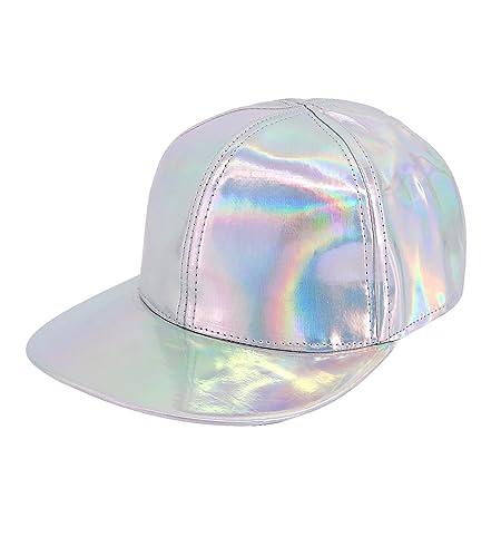 MIA - Gorra de béisbol - para mujer Plateado plata Talla única