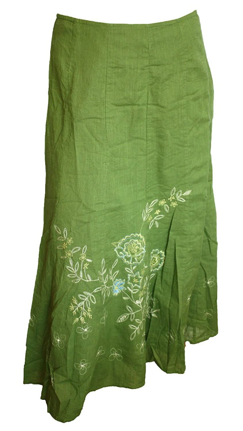 Ex Per Una M&S 1950s Style Floral Embroidered A-Line Skirt. Sizes 8-16.