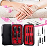 Manicure Set,7 In 1 Stainless Steel Professional