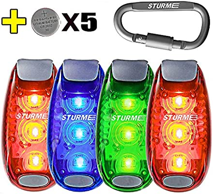Strollers Accessories Activity & Gear Baby Stroller Warning Light Night Outdoor Led Warning Lights Safety Light Waterproof Baby Stroller Accessories