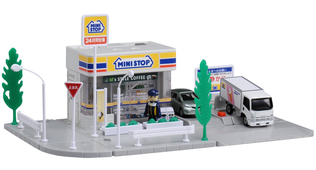 Tomica Town MINISTOP (japan import)