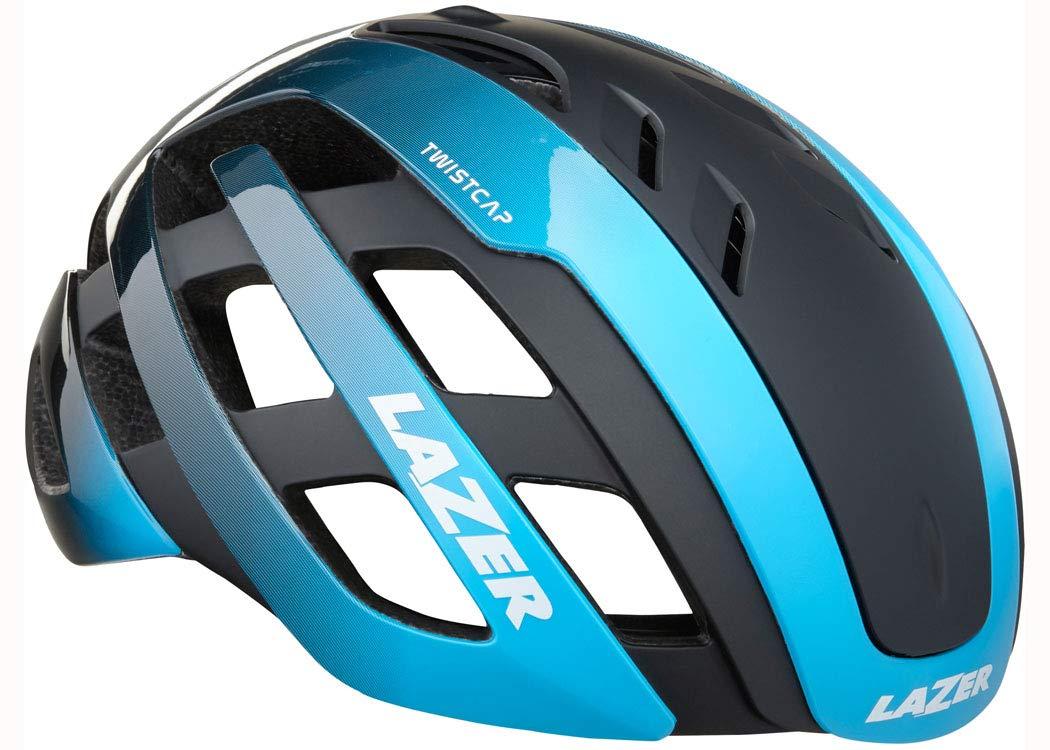 LAZER(レイザー) CENTURY AF (センチュリー アジアンフィット) ロードヘルメット [ブルーブラック]  M(55~59cm)