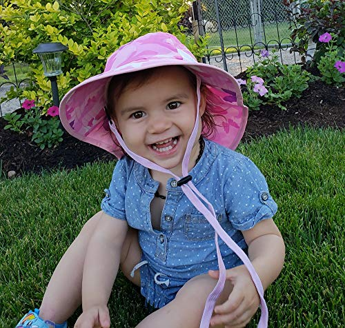 79e67ca9 Veyo Kids - Noggins Sun Hat - UV Protection | Lightweight, Breathable |  Safety Chin