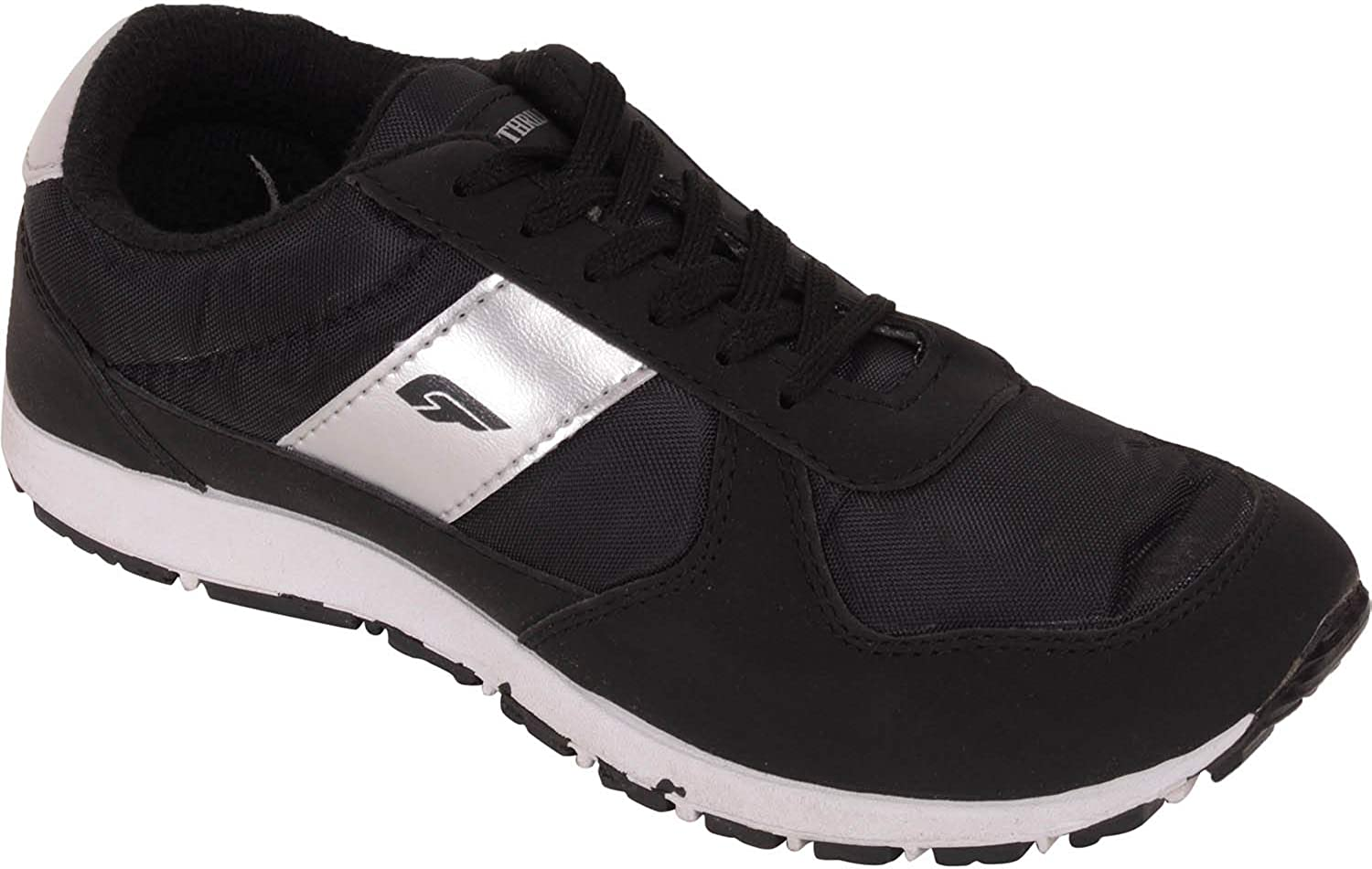 Bata Men Black Running Sports Shoes: Amazon.es: Zapatos y complementos