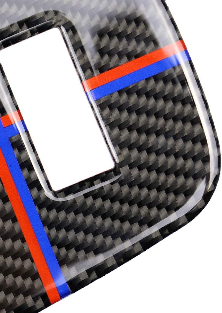 CADANIA f/ür Mini Cooper JCW F55 F56 Zubeh/ör Auto Innen Carbon Zigarettenanz/ünder USB AUX Panel Konsole Abdeckung Aufkleber B #