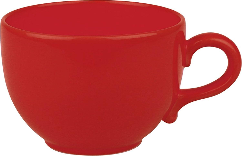 Waechtersbach Fun Factory II Red Jumbo Cups Set of 4 01S4JC6038