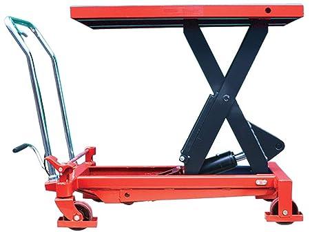 1000kg Mobile Scissor Lift Hydraulic Lifting Platform Table