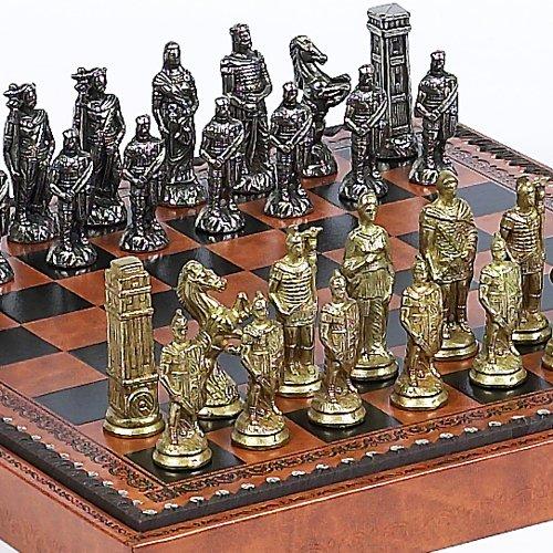 Bello Games Collezioni - Lorenzini Chessmen & Marcello Chess Board/Box from Italy