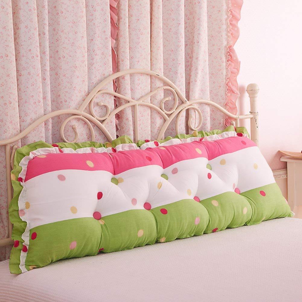 YLCJ Cama Coreana cojín Grande Sofá [algodón] Almohada Larga para ...