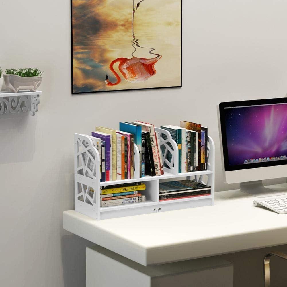 B/ücherregal Desktop Storage Hochfeste Regale Einfache Tischregal Student Book Storage Organizer