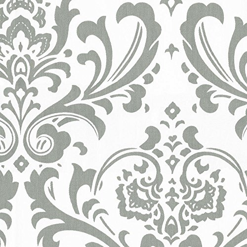 Carousel Designs Gray Traditions Damask Cradle Sheet