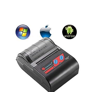 CCDYLQ Impresora térmica de Recibos Mini inalámbrica ...