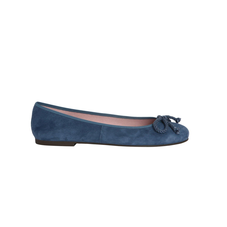 Pretty Ballerinas - Mocasines de cuero para mujer Multicolor azul 37.5: Amazon.es: Zapatos y complementos