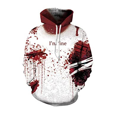 Horror Wound 3D Hoodies Hombres Mujeres Tallas Grandes Cosplay ...
