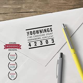 product image for World's Favorite Custom Address Stamp – Three Designing Women, The Downings Custom Address Stamp (CS3653)