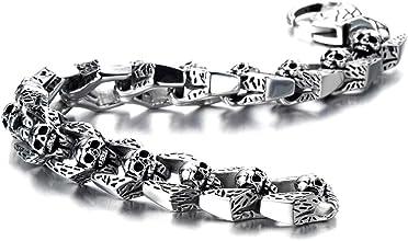 bracelet tête de mort homme 1