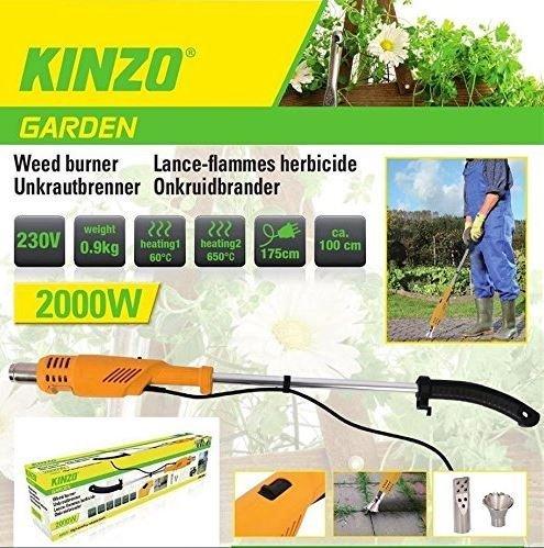 Unkrautbrenner Elektrisch, Grillanzünder Unkraut Brenner 2000W Unbekannt