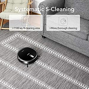 ECOVACS DEEBOT 711 Robot Vacuum Cleaner with Smart Navi 2.0, Systematic Mapping Cleaning, Wi-Fi Connectivity, Ideal for Pet Hair, Carpets, Hard Floor Surfaces, Compatible with Alexa