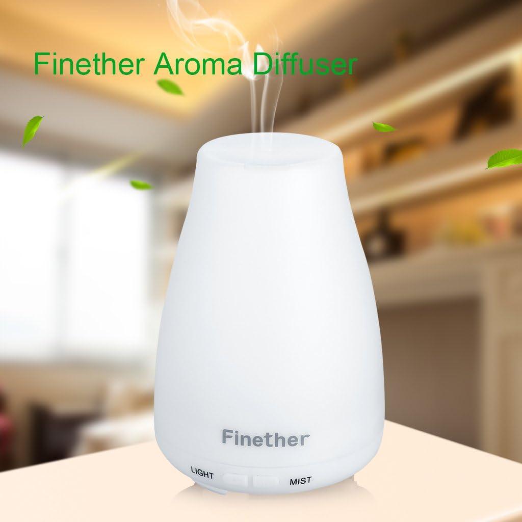 finether 100 ml aroma aceite esencial difusor ultrasónico ...