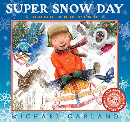Super Snow Day Seek and Find (Garland White Michaels)
