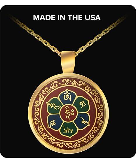 Amazon com: Buddha Necklace - Pendant Charm with Buddhist