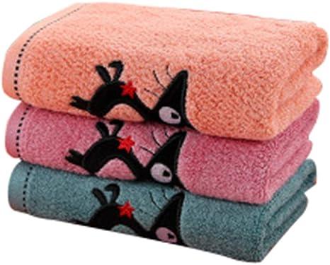 Toalla de baño de algodón de alto grado (un paquete de tres piezas ...