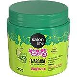 Máscara #todecacho de Babosa Tratamento Para Divar, 500 gr, Salon Line, Salon Line, Branco