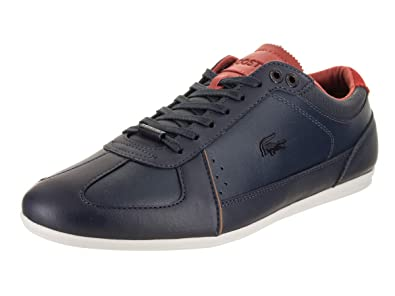 2ad06f73fbcc72 Lacoste Men s Evara 318 2 Navy Red 7 M US M