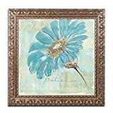 Spa Daisies II Artwork by Chris Paschke, 16 by 16-Inch, Gold Ornate Frame