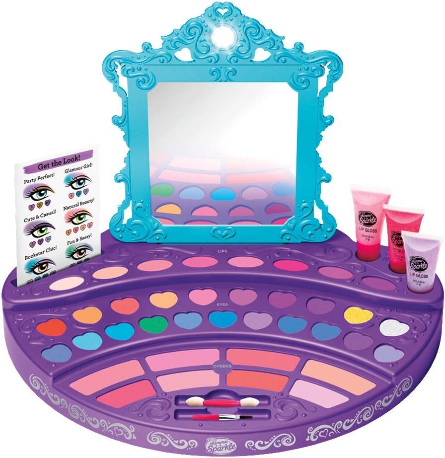 Cra-Z-Art - Tocador de maquillaje Real Ultimate Shimmern Sparkle (44796): Amazon.es: Juguetes y juegos
