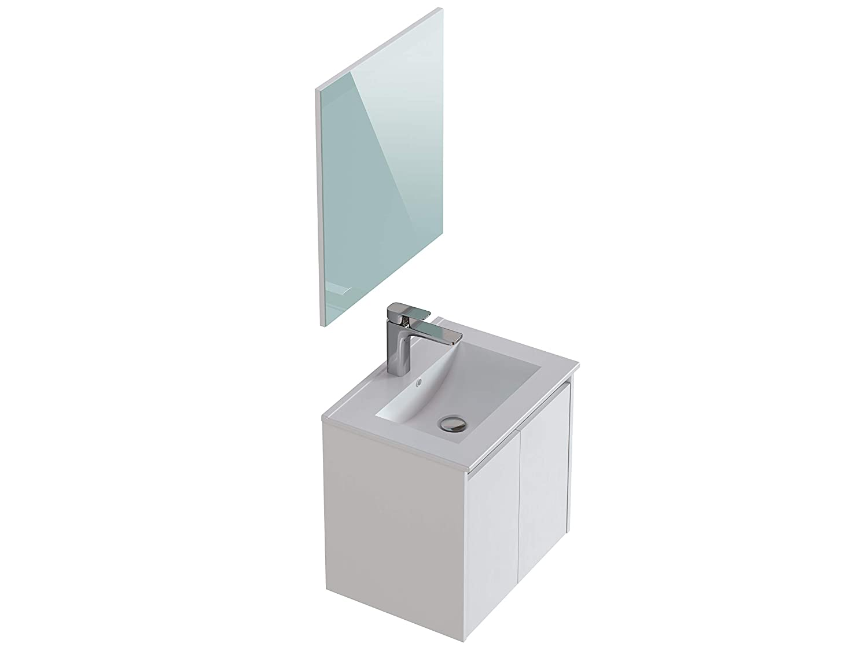 Colonna da bagno 40 x 32 x 135 Movian Layon colore bianco
