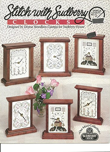 Stitch with Sudberry CLOCKS (Design Leaflet No. 1, Our Mini-Collection)