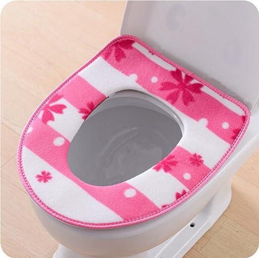 NuoEn Engrosada WC cojines cojines wc cojín sentado palo ...