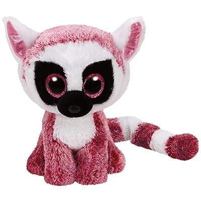 Ty 37225 Beanie Boo Leeann The Lemur-15 cm: Toys & Games