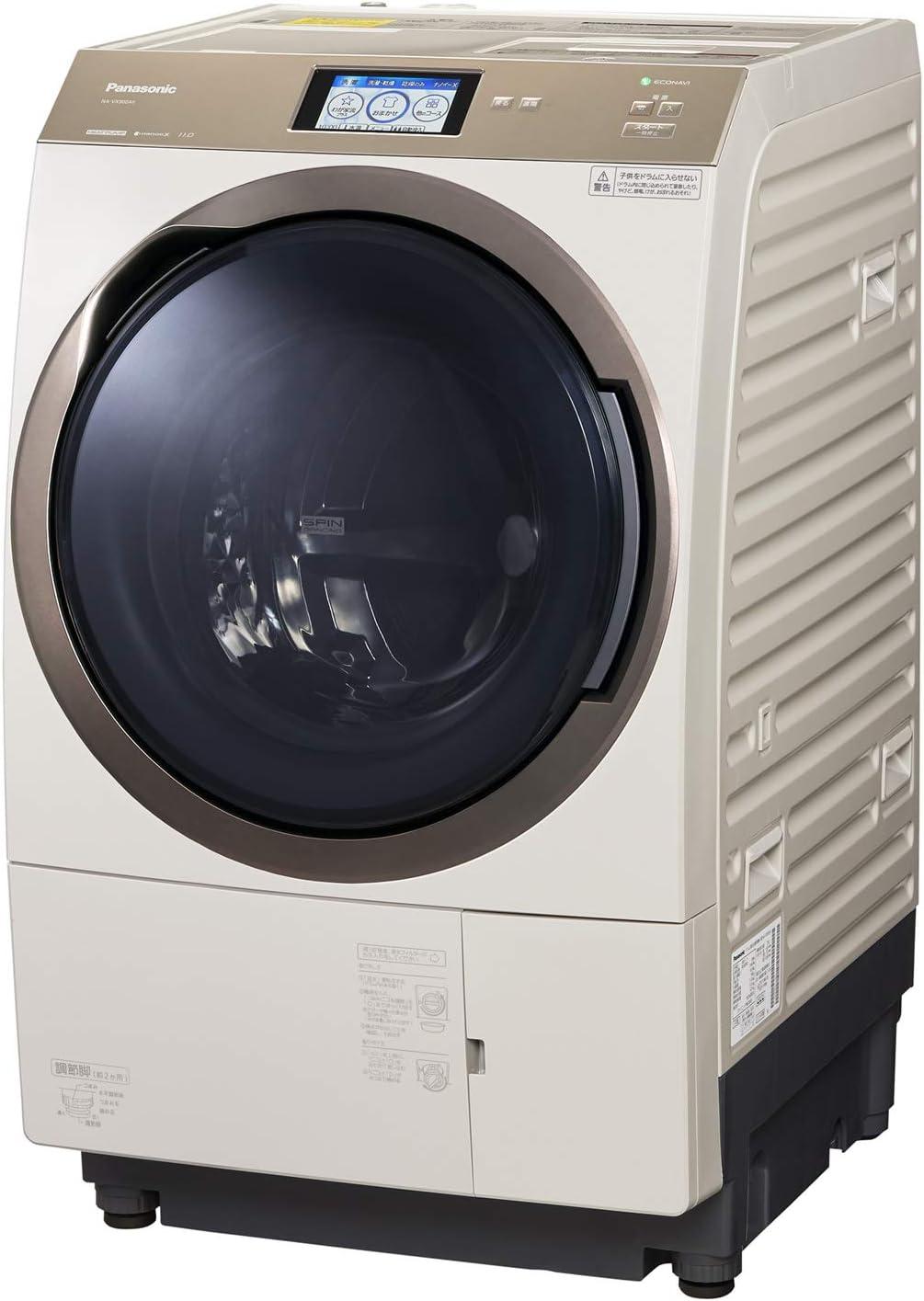 パナソニック ななめドラム洗濯乾燥機 11kg ナノイーX ノーブルシャンパン NA-VX900AR-N