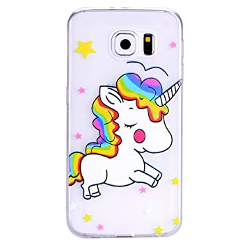 coque galaxie s6 licorne