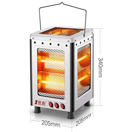 Heater GJM Shop Rojo/Blanco Calentamiento De Tubo Cinco Lados De Calefacción El Ahorro De