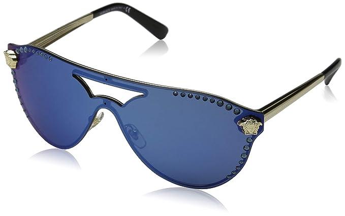 Versace Ray-Ban 125255 Gafas de sol, Mariposa, 45, Pale Gold ...