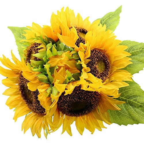 Falling Leaves Picture (AmyHomie Artificial flowers, Artificial Sunflowers, Fake Flowers for Wedding Decoration)