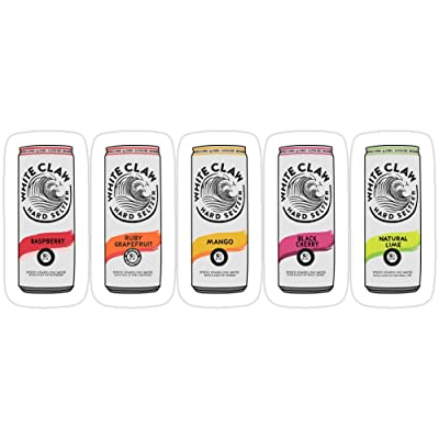 Vijk kor White Claw Life (Variety Pack) Stickers (3 Pcs/Pack): Kitchen & Dining