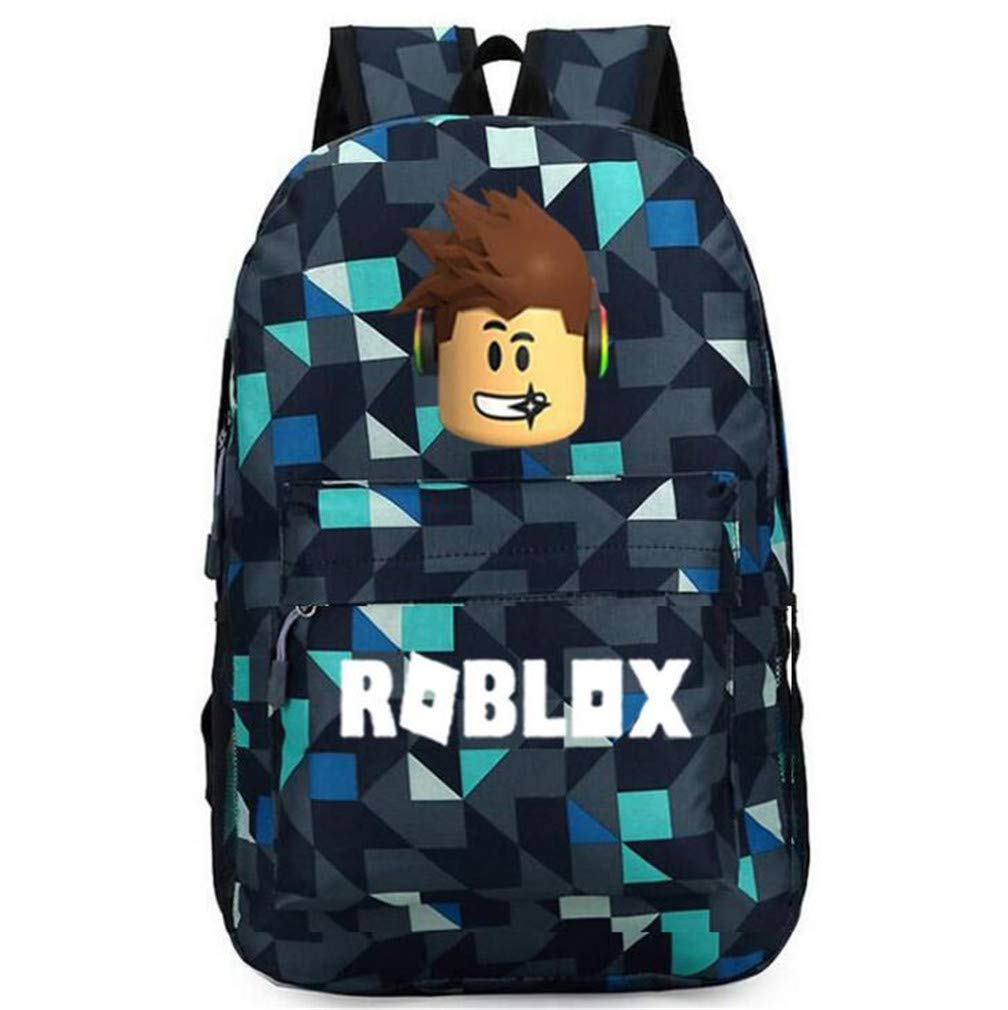 Youngate Roblox Backpack Student Bookbag Laptop Backpacks Travel Game Fans Gift(5) by Youngate