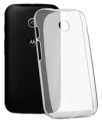 outlet store 5afba b9f8c COVERNEW Back Cover Motorola Moto E (1st gen)::Moto E - Transparent