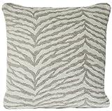 Zebra Design Cushion Cover Chenille Grey Decorative Throw Pillow Case Osborne and Little Fabric Selati