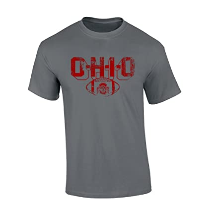 966dbf4d981 Elite Fan Shop Ohio State Buckeyes Tshirt Vintage Football Charcoal - M