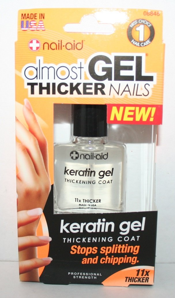 Amazon.com : Almost Gel Thicker Nails Keratin Gel 11x thicker. : Beauty