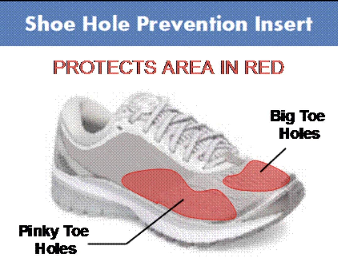 Shoe Armour - Shoe Hole Prevention