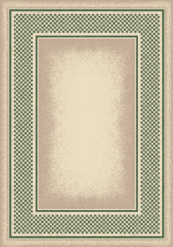 (Milliken 4000039763 Innovations Collection Old Gingham Rectangle Area Rug, 3'10