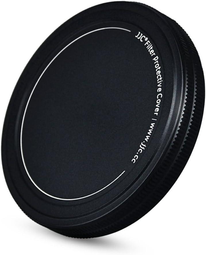 JJC Metal Lens Filter Stack Cap Filter Protective Case for 67mm Ultraviolet UV Filter Circular Polarizer CPL Filter Neutral Density ND Filter and More Filters in 67mm Thread Size,Upgraded Slim Version